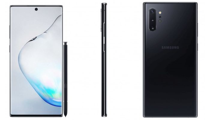 Galaxy Note 10+ Black