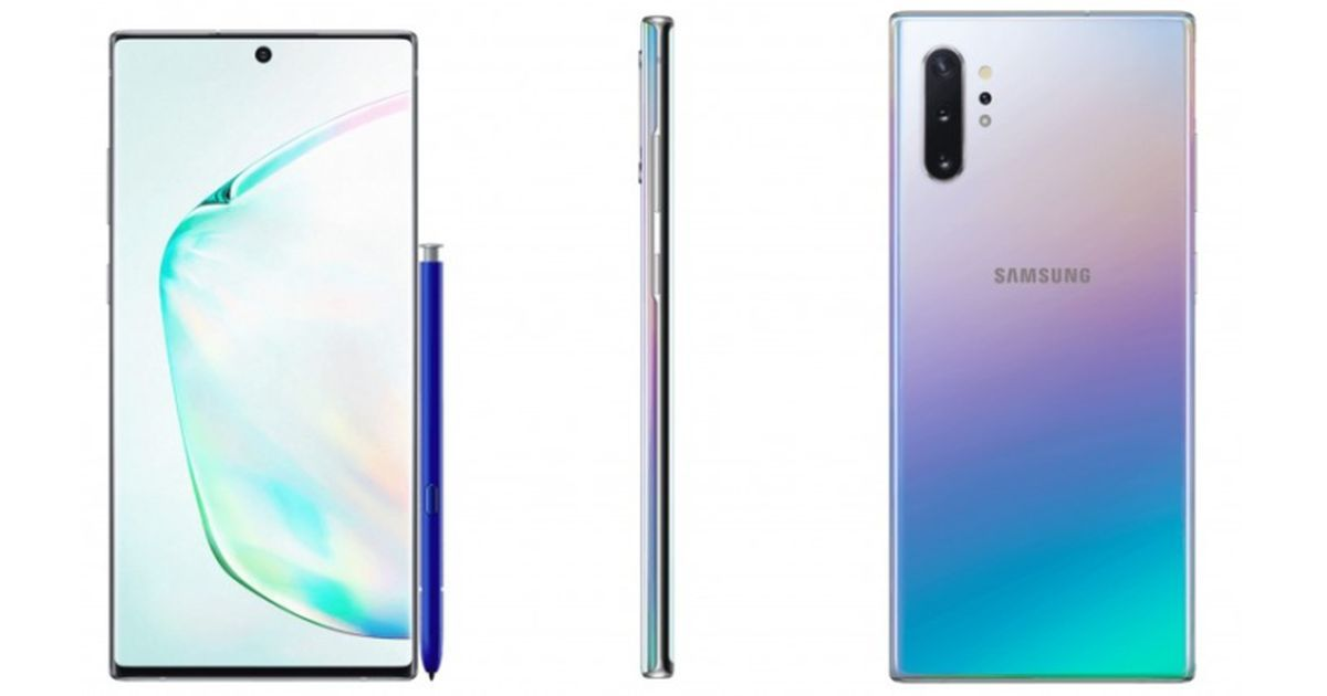 Samsung Galaxy Note 10 And Note 10 Plus To Come With Snapdragon 855 Plus