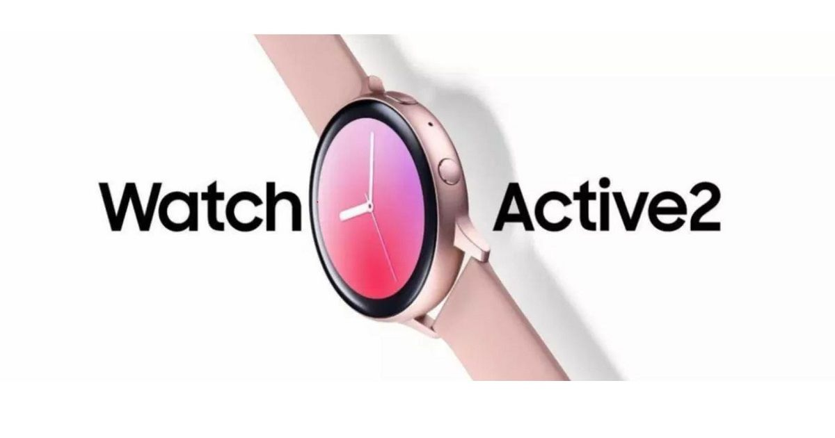 Samsung Galaxy Watch Active 2 Official Render and Specs Leaked