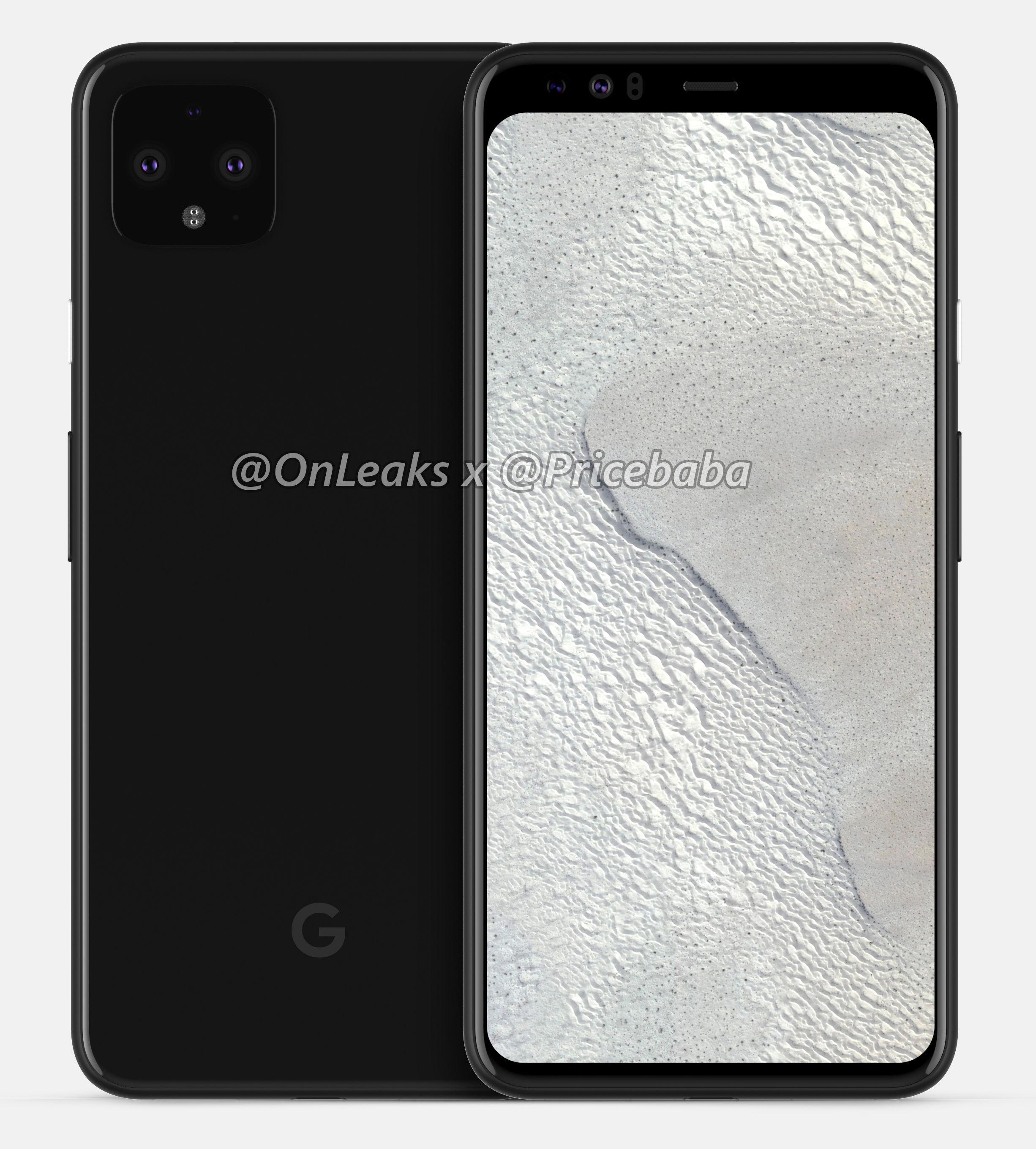 Penampakan Google Pixel 4 XL.