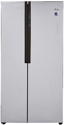 Haier side by side refrigerator