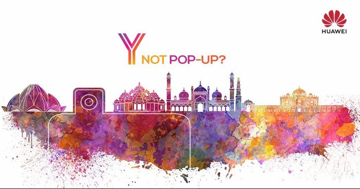 Huawei Teases Pop-Up Camera Smartphone Launch In India, Could Be The Y9 Prime (2019)