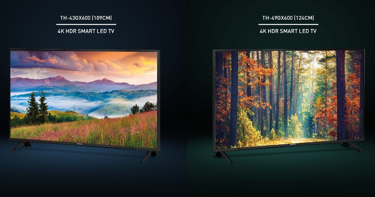 Panasonic launches 14 new 4K UHD TVs, prices start at Rs 50,400
