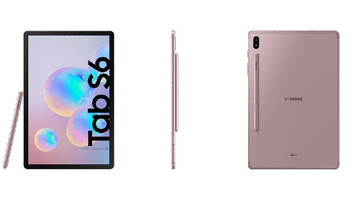 Samsung Galaxy Tab S6 Rose Gold