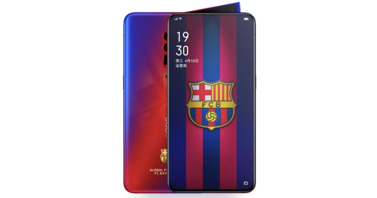 OPPO Reno 10X Zoom FC Barcelona Edition launched in China