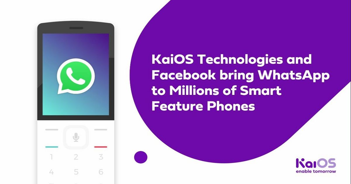 WhatsApp Comes To KaiOS-Powered Feature Phones