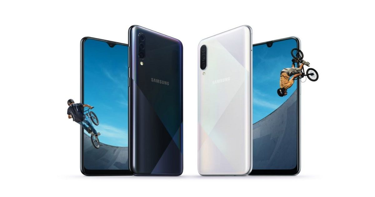 Samsung Galaxy A50s and A30s with triple cameras and in-display fingerprint scanners announced