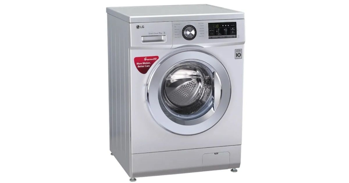 LG launches new washing machine range with 5-star rating