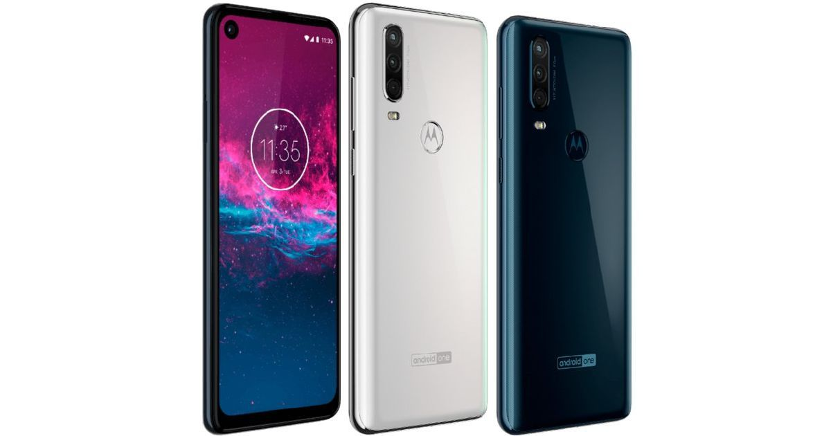 Motorola One Action with punch hole display and triple rear cameras announced