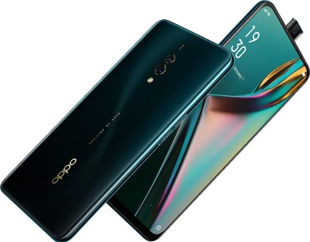 OPPO K3 smartphone