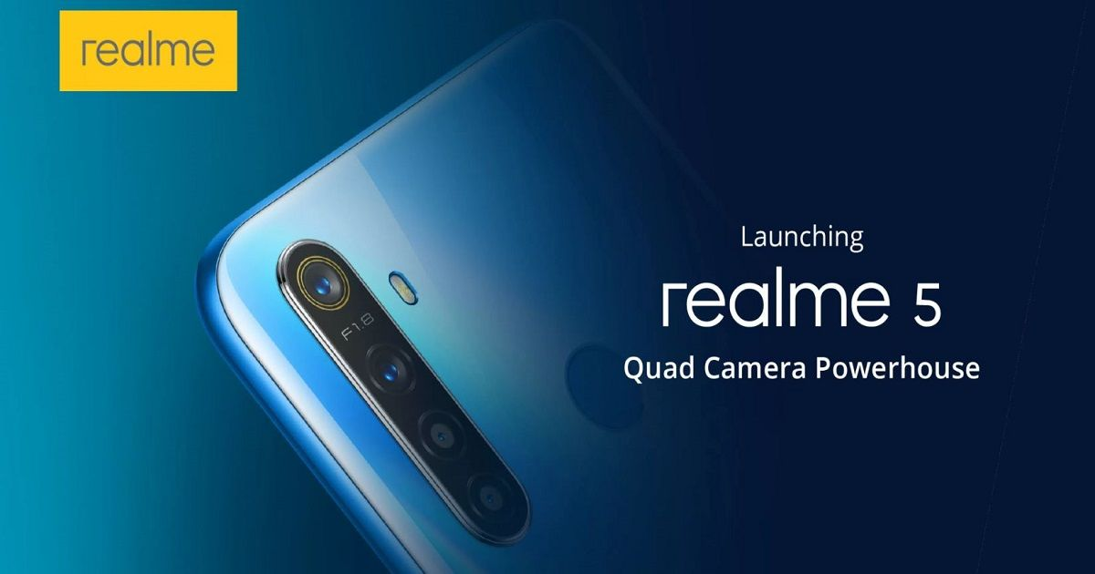 Realme 5 to be priced under Rs 10,000