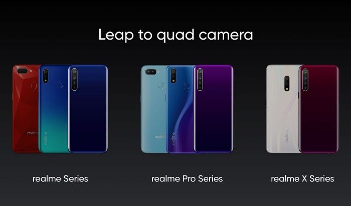 Realme quad-camera phones to launch by Diwali