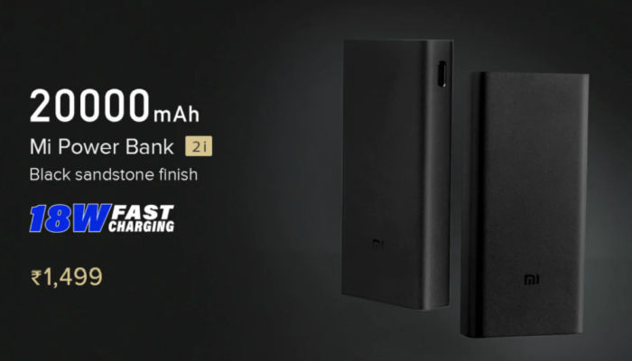 Xiaomi Mi Powerbank 2i 20000mAh-