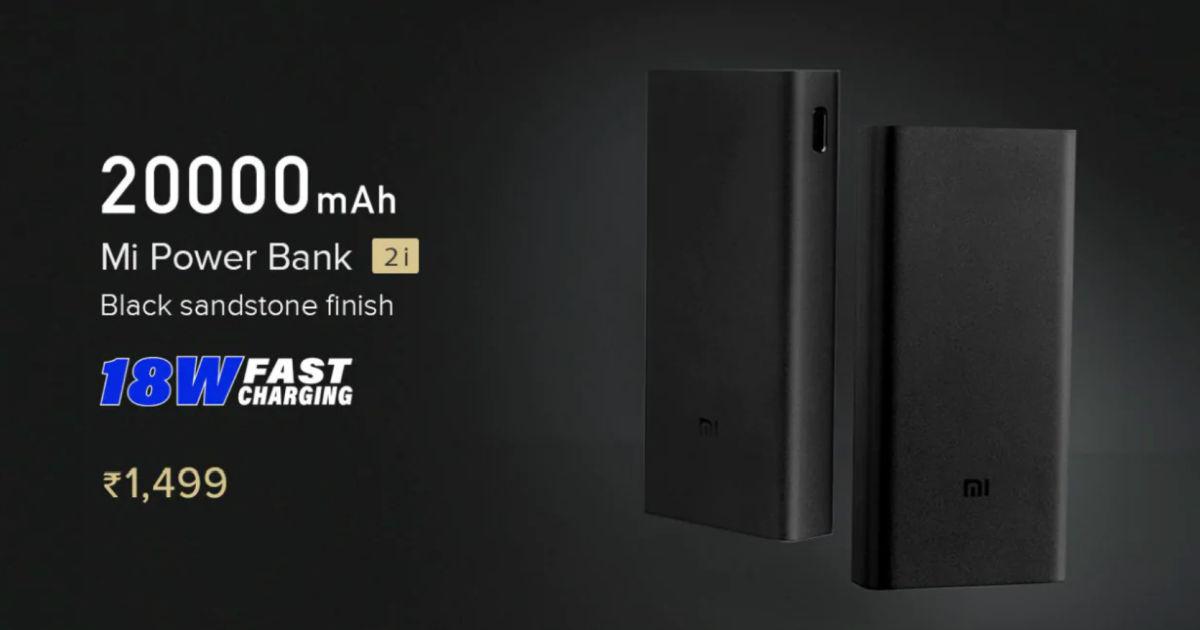 Xiaomi Mi Powerbank 2i 20000mAh
