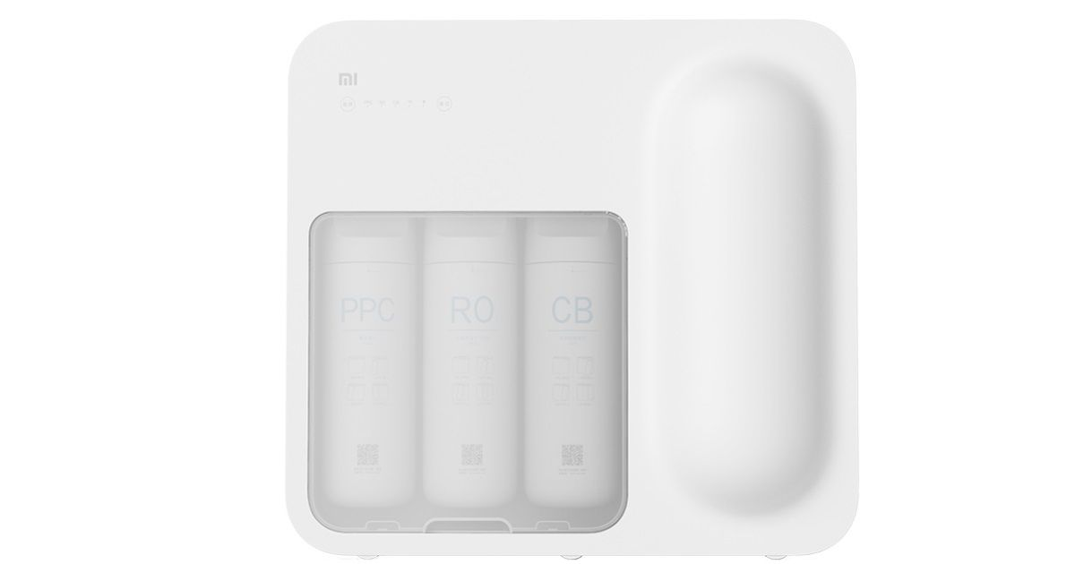 Xiaomi Mi Water Purifier 'Lentils' with 4-stage RO filtration launched in China
