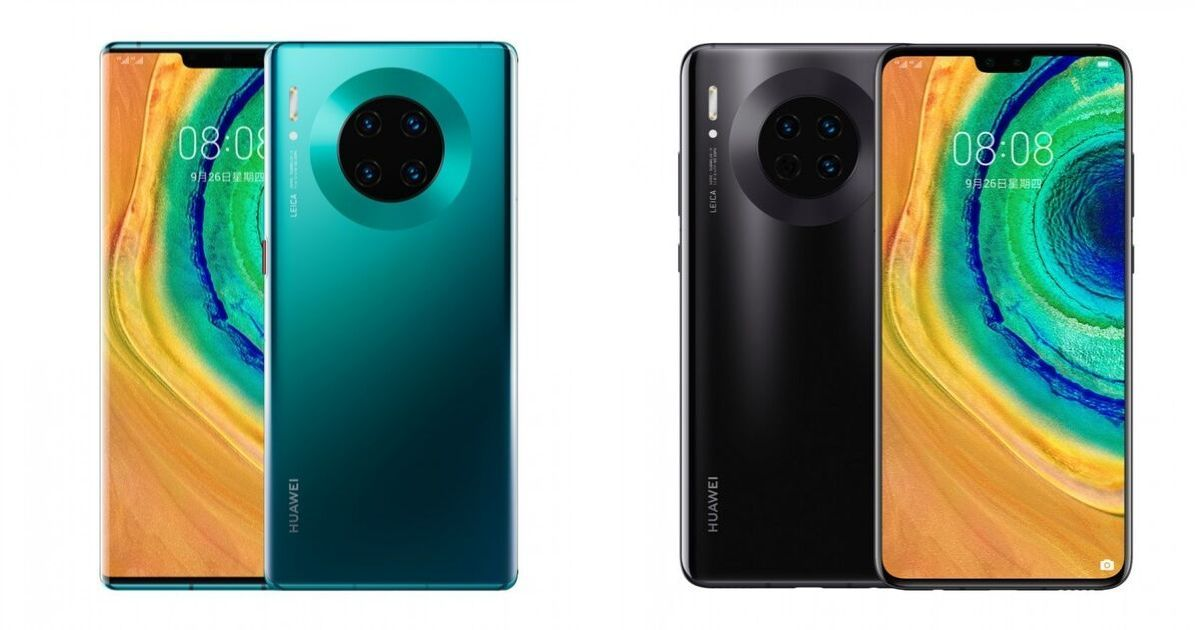 Huawei Mate 30 and Mate 30 Pro with Kirin 990 and Horizon display launched; price, specifications