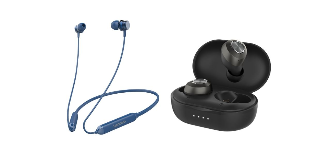 Lenovo launches new range of audio products, prices start at Rs 599