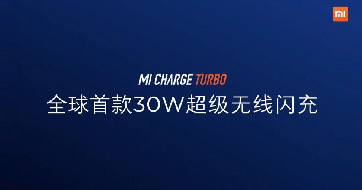 Mi Charge Turbo tech