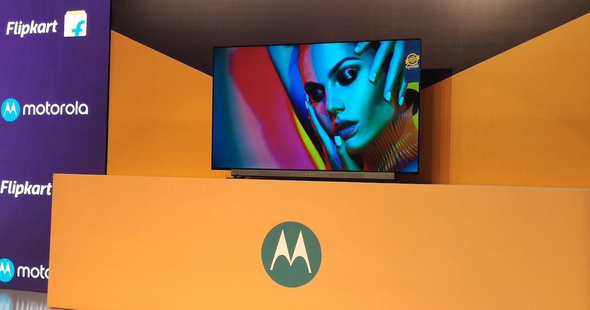 Motorola makes its smart TV debut, prices start at Rs 13,999