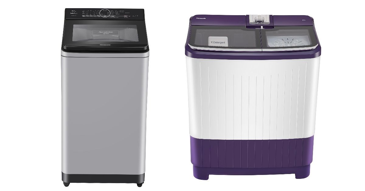 Panasonic launches  fully-automatic and semi-automatic washing machine range in India