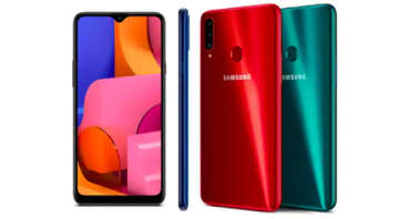 Samsung Galaxy A20s featured