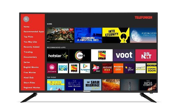Telefunken 49-inch 4K UHD Smart TV