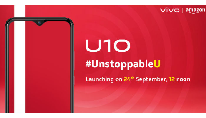 Vivo U10 September 24 launch--