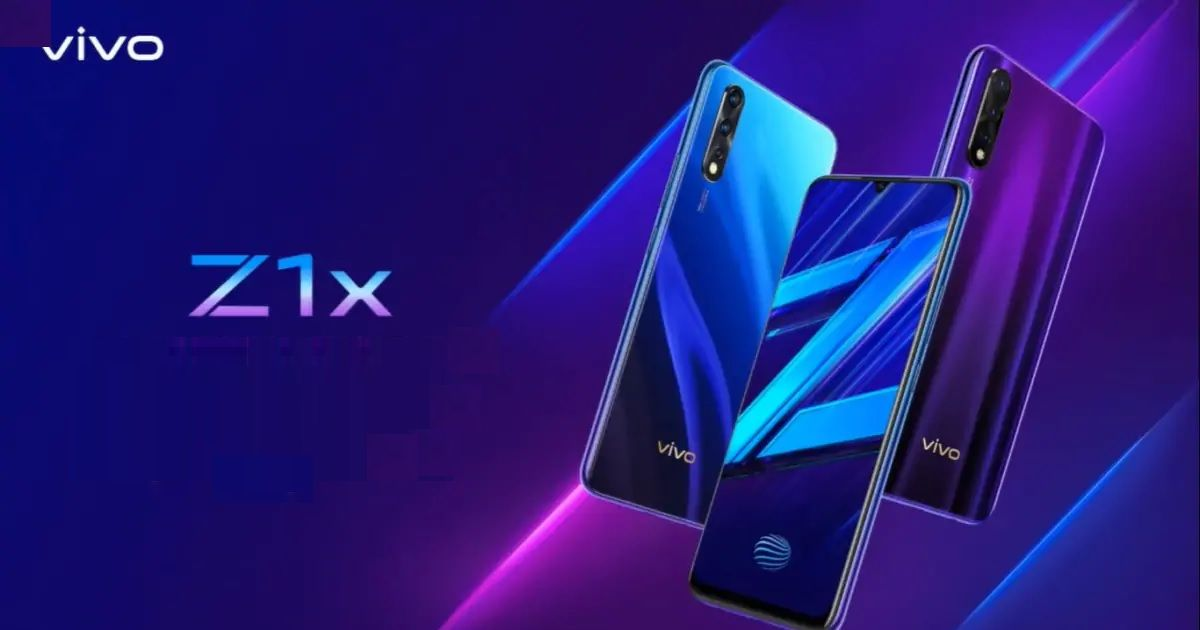 Vivo Z1x 8GB RAM model coming soon to India as an offline exclusive