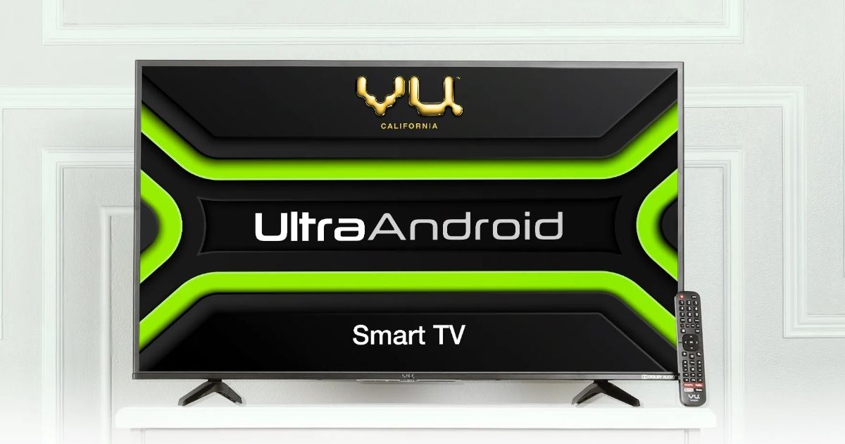 Vu UltraAndroid TV range launched in India, available on Amazon from September 28th