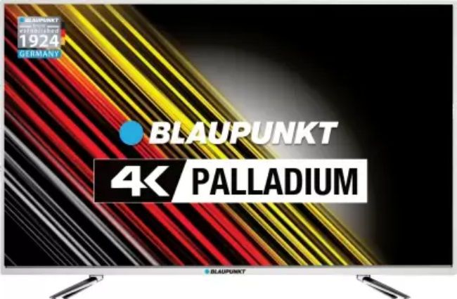 Blaupunkt 4K Palladium UHD LED Smart TV launched