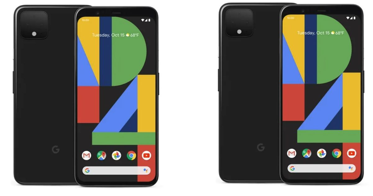 Google Pixel 4 and Pixel 4 XL with 90Hz displays and dual cameras go official