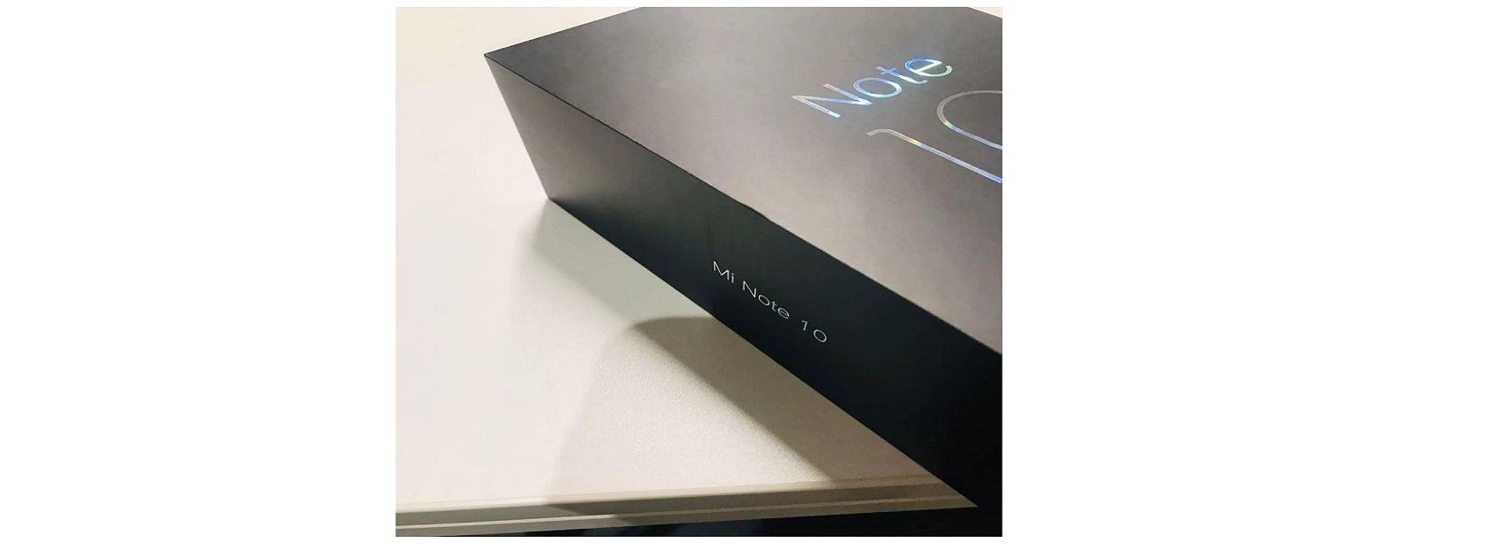 Xiaomi Mi Note 10 retail box surfaces online, launch seems imminent