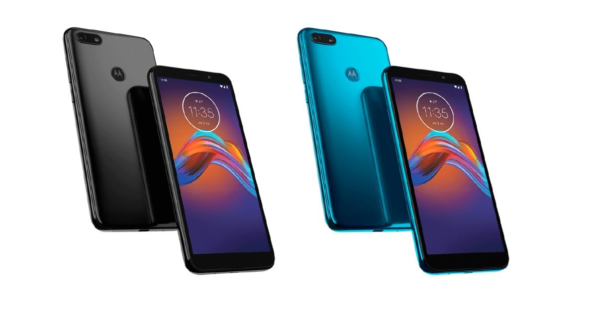 Moto E6 Play renders show off design and colour variants