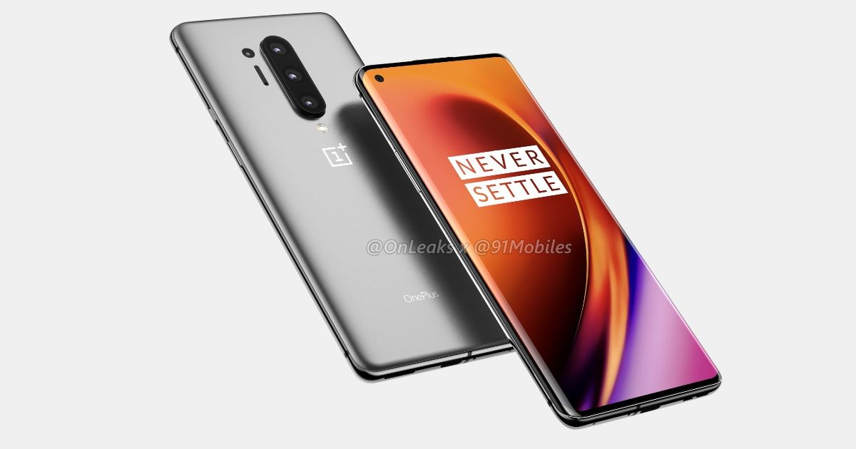 OnePlus 8 Pro renders leaked, reveal quad cameras and punch-hole display