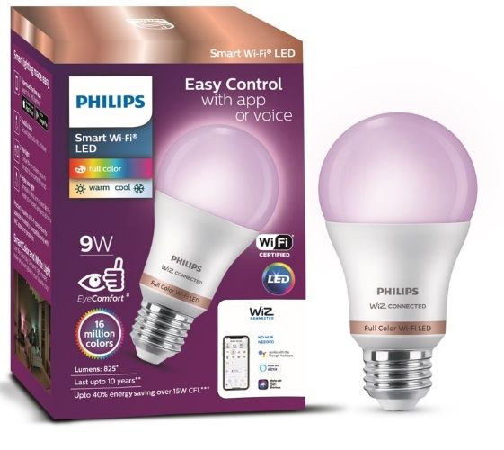 Philips Smart Wi-Fi LED bulb launched