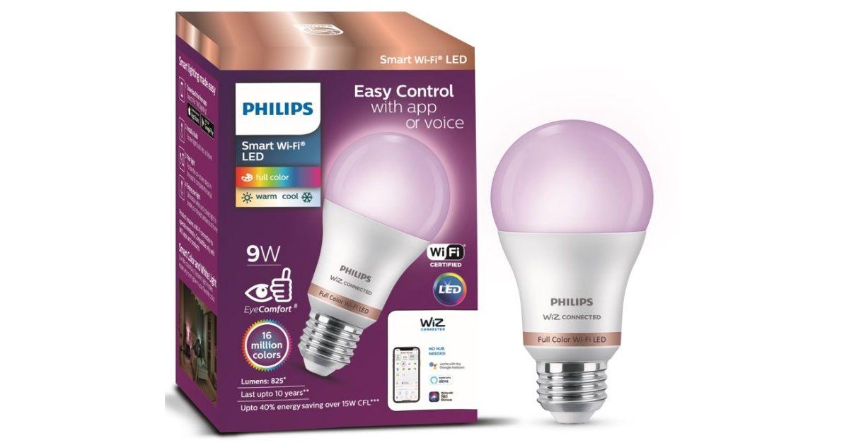 Philips Smart Wi-Fi LED bulb_featured
