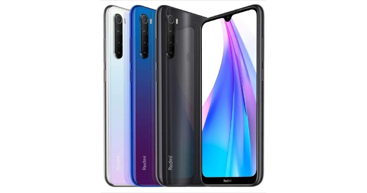 Redmi Note 8T front render