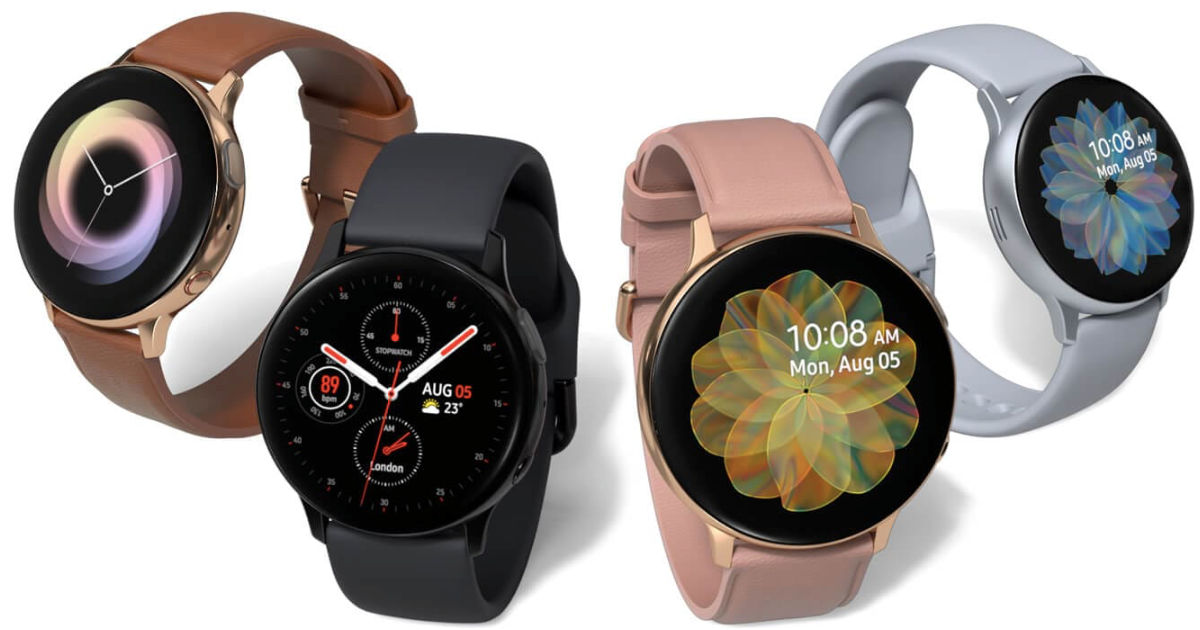 Samsung Galaxy Watch Active2 and Galaxy Watch LTE launched in India, prices start at Rs 26,990