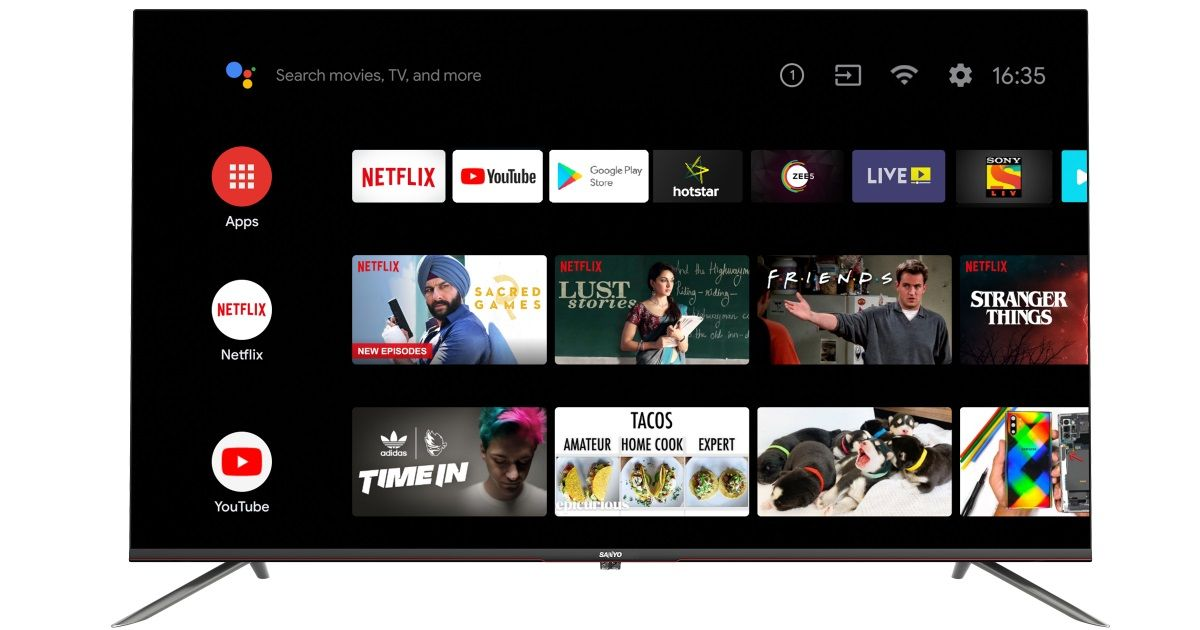 Sanyo launches new models in Kaizen Android TV range, prices starts at Rs 29,999