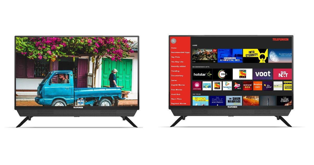 Telefunken launches 32-inch LED TV and Smart LED TV in India, prices start at Rs 7,999