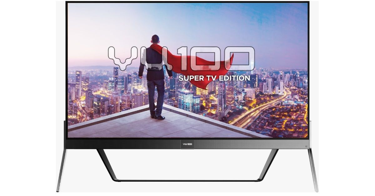Vu 100-inch 4K Super TV launched in India for Rs 8 lakh
