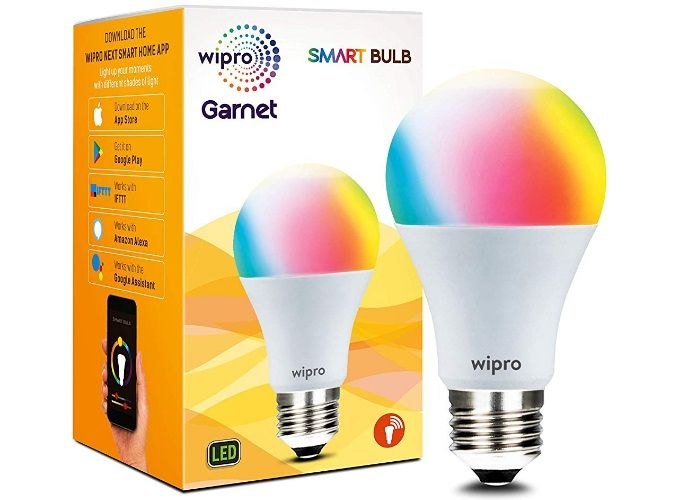 Wipro Wi-Fi Enabled LED Smart Bulb
