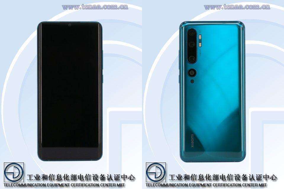 Xiaomi Mi CC9 Pro TENAA