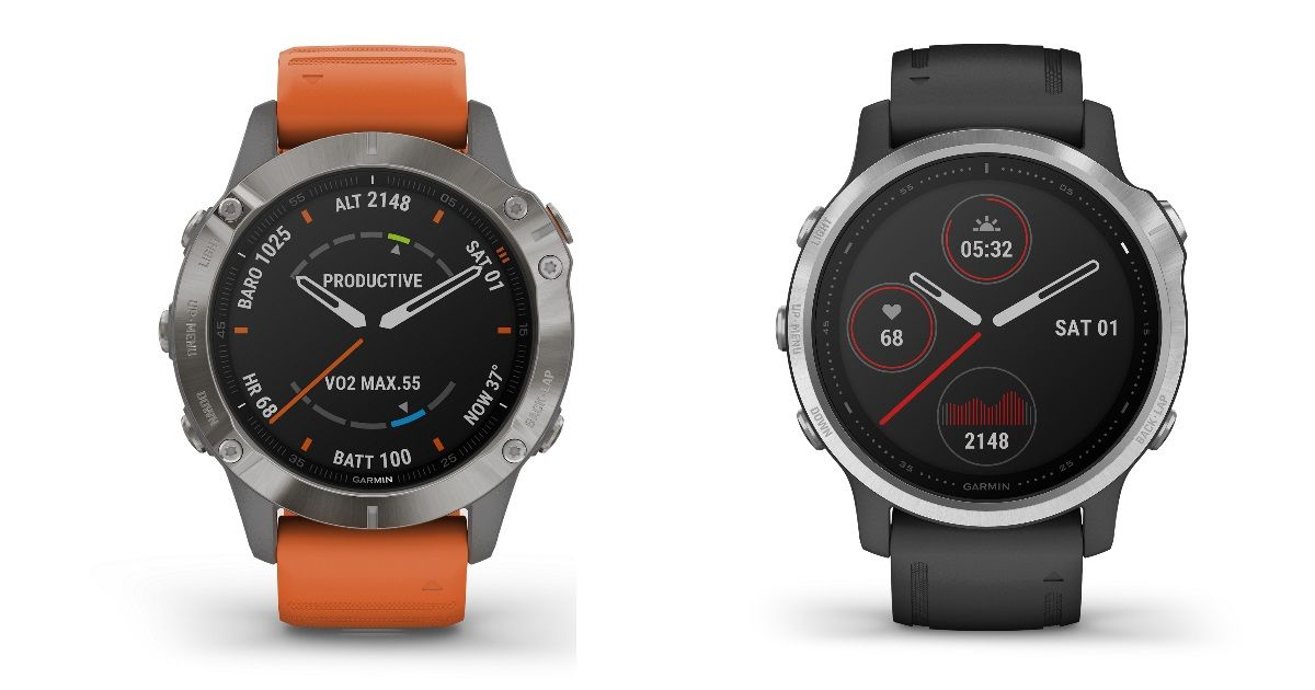 Garmin Fenix 6 GPS multi-sport smartwatches launched in India, prices start at Rs 79,990