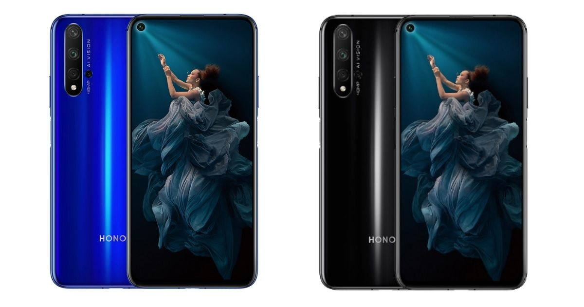 Honor 20 will now also be available on Amazon; limited period offer price of Rs 22,999