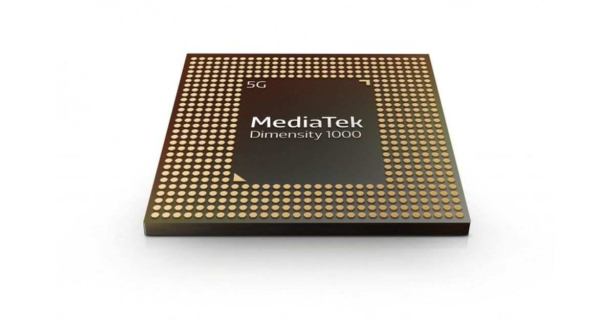 MediaTek D1000 5G chipset