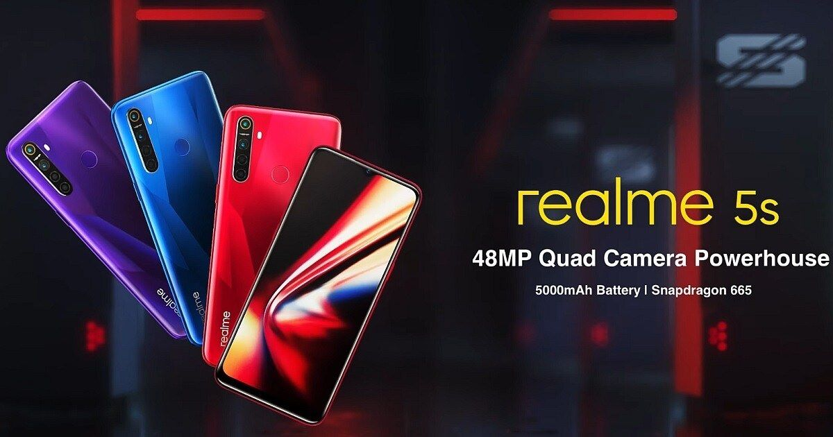 Realme 5s price in India starts at Rs 9,999; available from November 29th