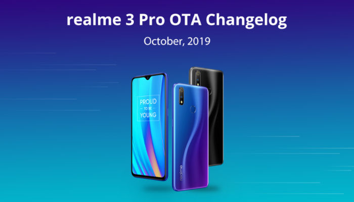 Realme3 Pro software update