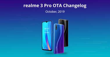 Realme 3 Pro software update
