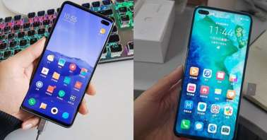 Redmi K30 and Honor V30-